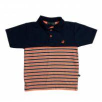 Camisa Polo Brooksfield - DA207 - 4 anos - Brooksfield Júnior