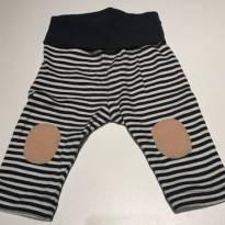 Calça Malha RN listrada - Recém Nascido - BB Básico