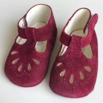 Sapato bebê vinho - 14 - Salamê Minguê