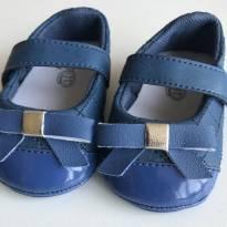 Sapato bebê azul - 14 - Baby