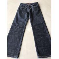 Calça Jeans Escuro - 8 anos - GAP