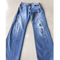 Calça Jeans desgastada - 10 anos - GAP