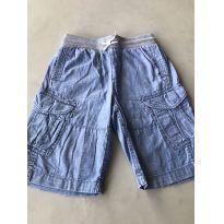 Bermuda Jeans Cargo - 10 anos - GAP