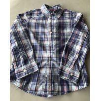 Camisa em algodão Xadrez - 7 anos - Carter`s