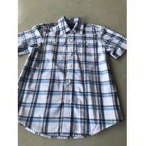 Camisa manga curta xadrez - 7 anos - GAP
