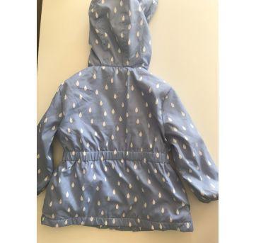 Capa de chuva forrada - 9 a 12 meses - Young dimension