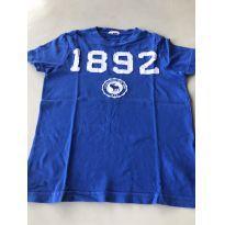 Camiseta Azul Roal 1892 - 6 anos - Abercrombie