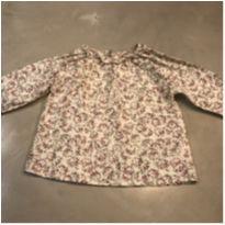 Blusa em algodão florda - 6 meses - DPAM (Du Pareil Au Même)
