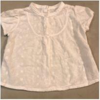 Blusa em lesie - 12 a 18 meses - Zara
