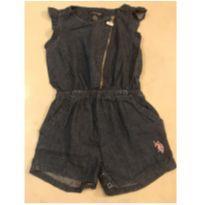 Macacão jeans - 18 a 24 meses - US Polo Assn