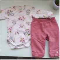 Conjunto Coelinho - 3 meses - Anjos baby