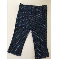 Calça jeans poas - 9 meses - Cherokee