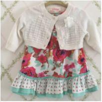 Vestidinho com bolerinho - 9 meses - Genuine Baby  OshKosh