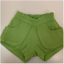 Shorts Tyrol verde - 2 anos - Tyrol
