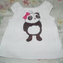 Blusinha super fofa panda - 9 a 12 meses - Gymboree