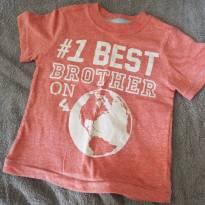 Blusinha Best Brorher - 18 meses - Crazy 8