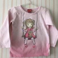 Camiseta Manga longa Kyly - 2 anos - Kyly