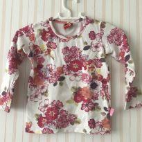 Blusa floral - 3 anos - Kyly