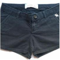Short preto Abercrombie - 10 anos - Abercrombie