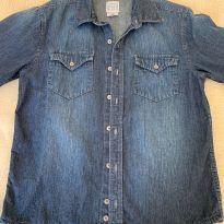 Camisa jeans - 11 anos - Importada