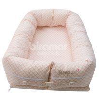 Bercinho Portátil Ninho para Bebê Sleep UM Jardim Secreto Nice Rosa -  - Biramar