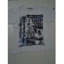 Camiseta Manga Curta Infantilandia - Tam 3 - 3 anos - Infantilandia