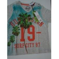 Camiseta Verão - 4 anos - 4 anos - C&A
