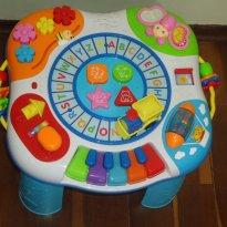 Super mesa de atividades piano e trem Yes Toys - Sem faixa etaria - Yes Toys