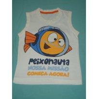 Regata Malha Peixonauta - 2 anos - Pool Kids