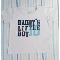 Camiseta branca Teddy Boom - 12 a 18 meses - Teddy Boom
