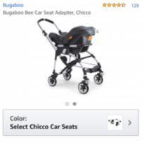 Adaptador de Bebê Conforto Chicco - Bugaboo Bee 3 -  - Bugaboo