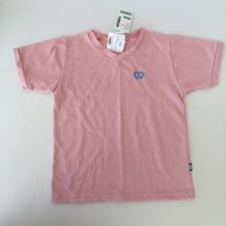Camiseta - cor Rosa - marca Elian - Tam 8 - 8 anos - Elian