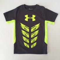 Camiseta esportiva - marca Under Armour - Tam 5 - 5 anos - Under Armour
