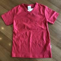 Camiseta cor cereja - Marca Alakazoo - Tam 6 - Nova - 6 anos - Alakazoo!