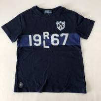 Camiseta - Marca Polo Ralph Lauren - Azul Marinho - Tam 5 - 5 anos - Ralph Lauren