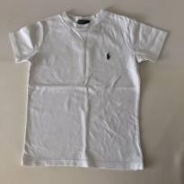 Camiseta - Marca Polo Ralph Lauren - Branca - Tam 5 - 5 anos - Ralph Lauren