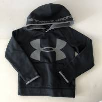 Blusa com Capuz - marca Under Armour - Tam P - 5 anos - Under Armour
