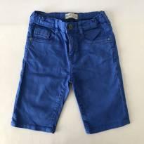 Bermuda Jeans Color - Zara Boys - Cor Azul - Tam 7