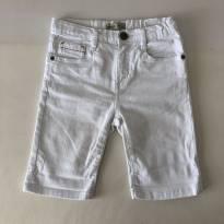 Bermuda Jeans Color - Zara Boys - Cor Branca - Tam 7 - 6 anos - Zara