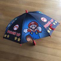 Guarda Chuva Infantil - Mario Bros - Pequeno -  - Não informada