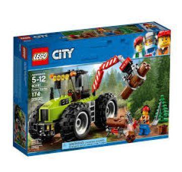 Lego City - Trator Florestal - Sem faixa etaria - Lego