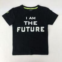 Camiseta Preta - I AM THE FUTURE - Tam 5