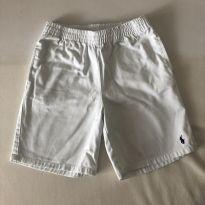 Bermuda - Polo Ralph Lauren - Branca - Tam  7 - 6 anos - Ralph Lauren