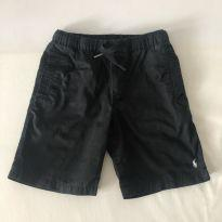 Bermuda - Polo Ralph Lauren - Preta - Tam  7 - 6 anos - Ralph Lauren