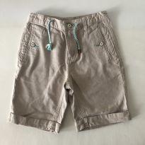 Bermuda - Zara - Bege - Tam  7 - 6 anos - Zara