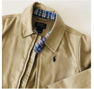 Jaqueta - Polo Ralph Lauren - Bege - Tam 5 - 5 anos - Ralph Lauren