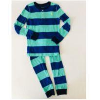 Pijama Polo Ralph Lauren - Listrado - Tam 7 - 6 anos - Ralph Lauren