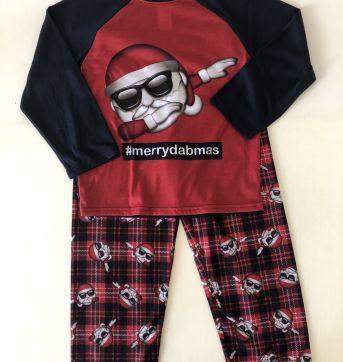 Pijama - Estampa Noel - marca Children`s Place - Tam 6 - 6 anos - Children`s Place