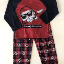 Pijama - Estampa Noel - marca Children`s Place - Tam 6 - 6 anos - Children`s Place