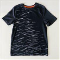 Camiseta Dri-fit - cor Cinza Chumbo- marca Champion - Tam P - 6 anos - Champion